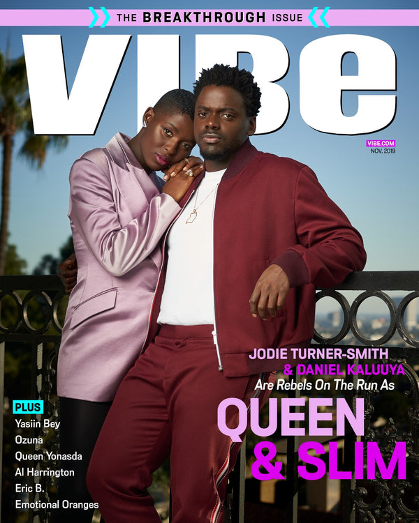 Jodie Turner 11.2019 on the cover of VIBE Magazine