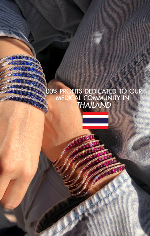 100% Profits dedicated to Medical Community in Thailand