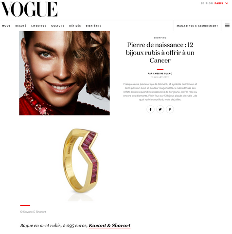 Kavant & Sharart Vogue Paris