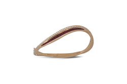 Talay Wave Twist 19 Bangle