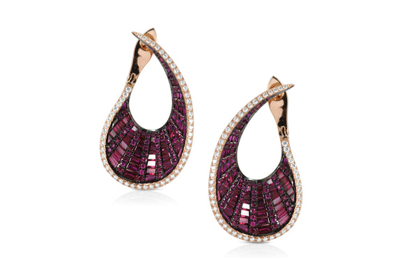 Talay front-back droplet Earrings (Grande) as seen on Reese Witherspoon