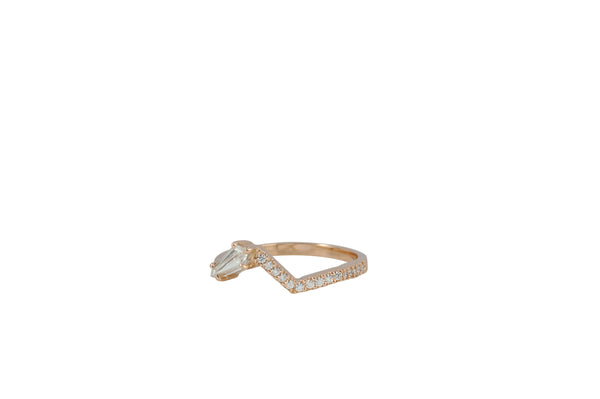 Origami Ziggy Jazz Diamond Ring