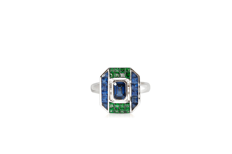 GeoArt Back to Basic Puzzle Center Stud Ring