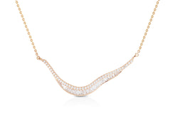 Talay Wave 19 Diamond Necklace
