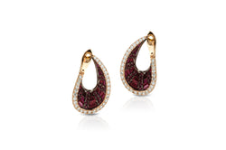 Talay front-back droplet Earrings