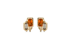 GeoArt DUO R-Bullet Earrings
