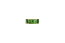 Classic Tsavorite Cigar 5 Ring set in Yellow Gold