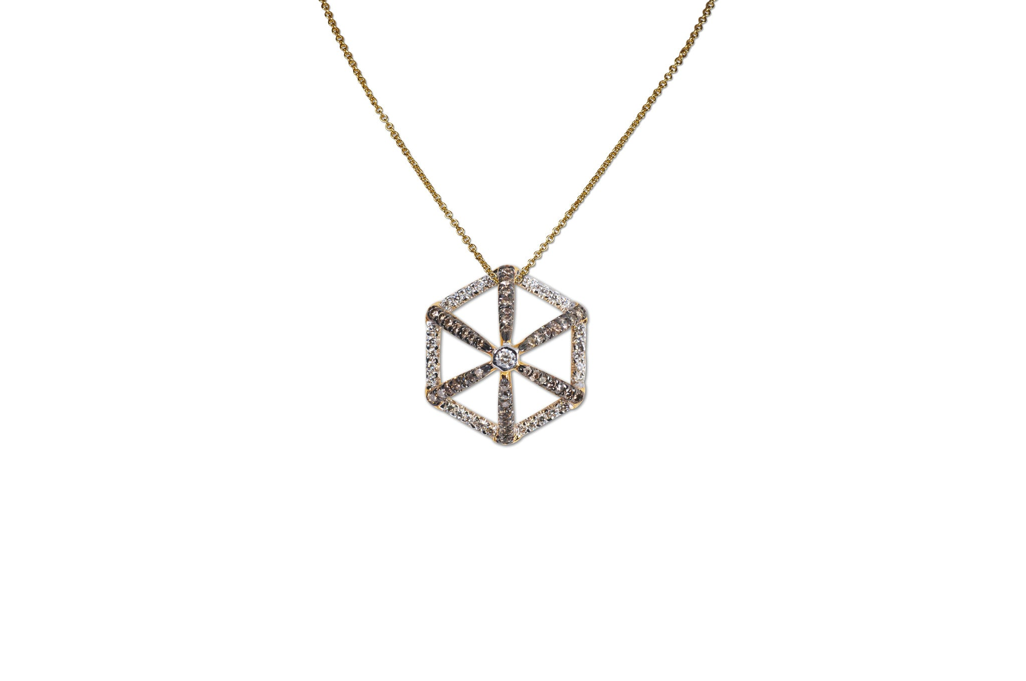 GeoArt Basic Hexagon Necklace