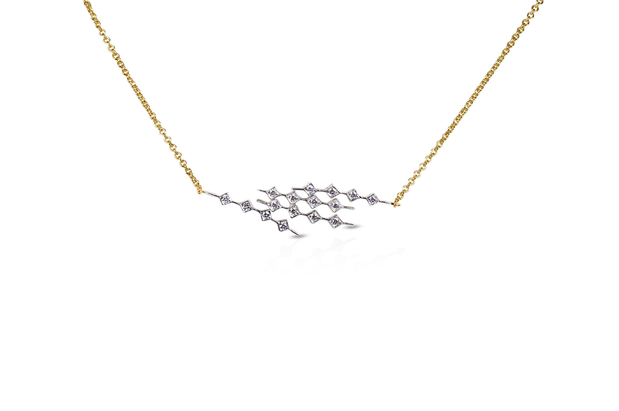 Talisman: Constellation 4 Diamond Necklace
