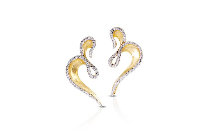 Talay Dancing Wave Earrings