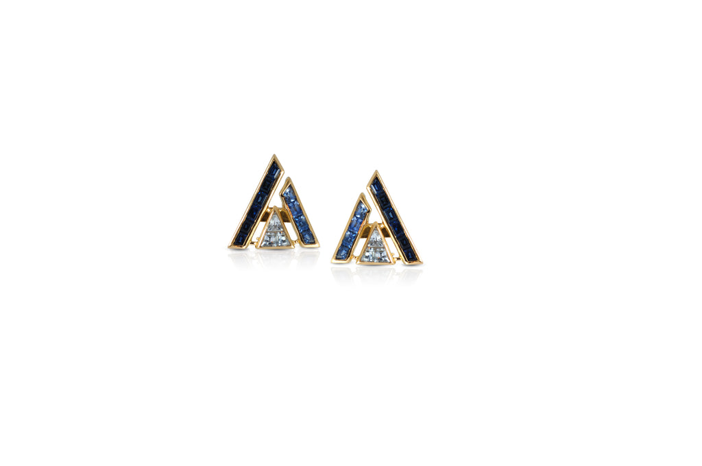 GeoArt Puzzle Series II Stud Earrings