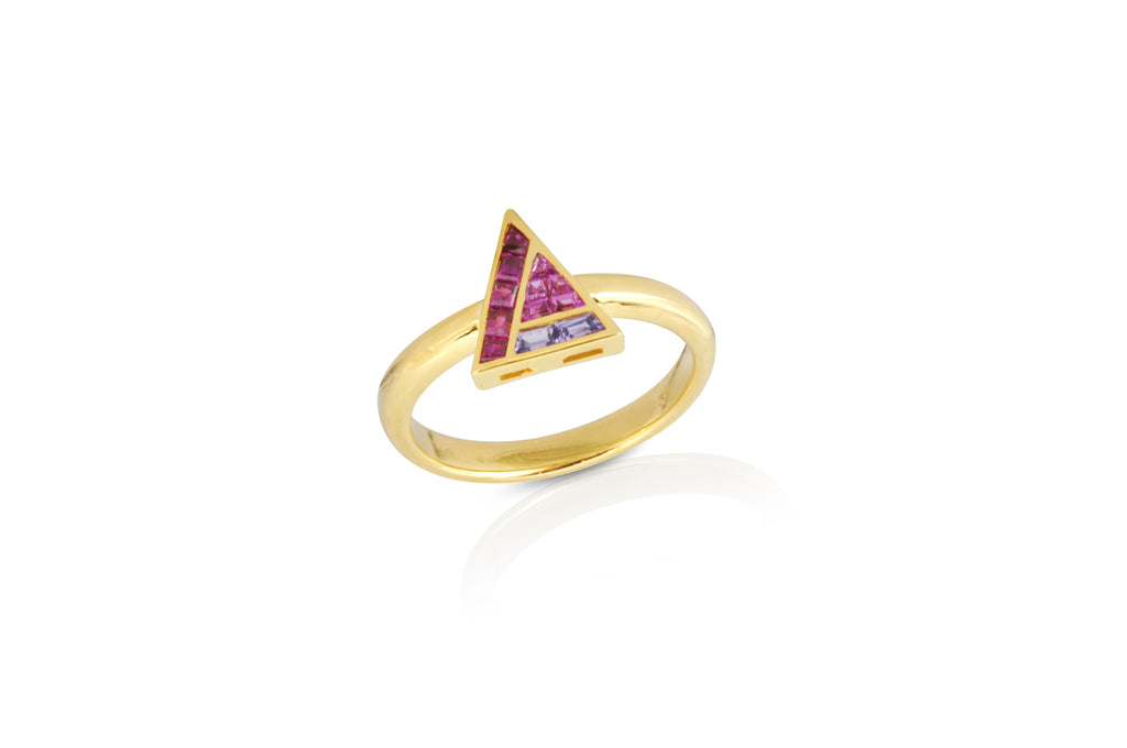 GeoArt Back to Basics Illusion Ring