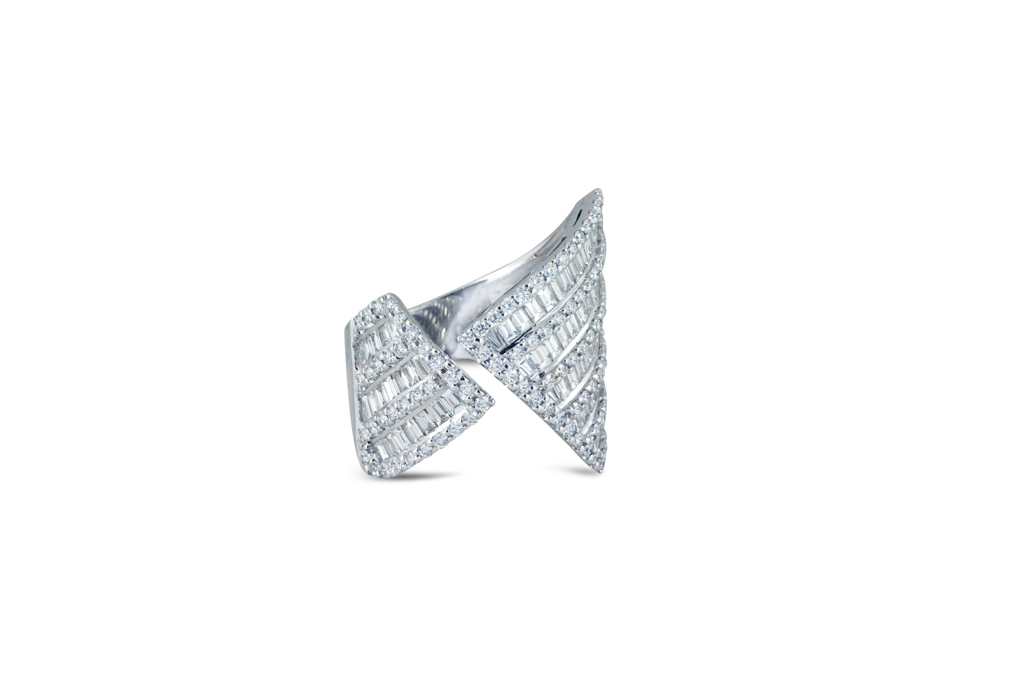 Origami Asymmetry Diamond Ring as seen on Jennifer Lopez
