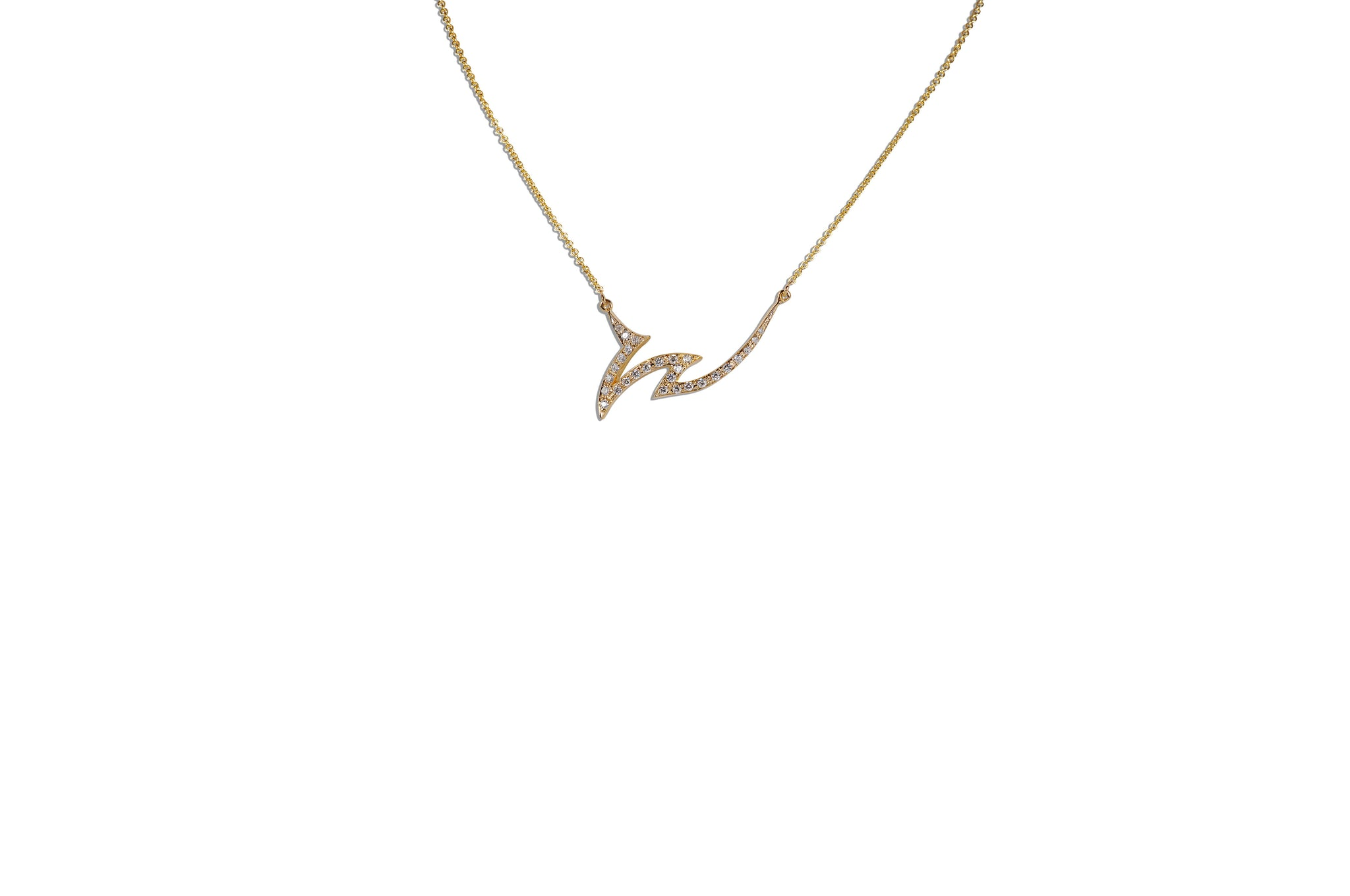 Le Phoenix Claw Diamond Necklace