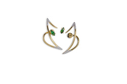 Le Phoenix Zeal II Tsavorite Garnet & Diamond Earrings