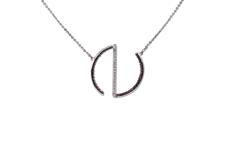 GeoArt Open Round Necklace