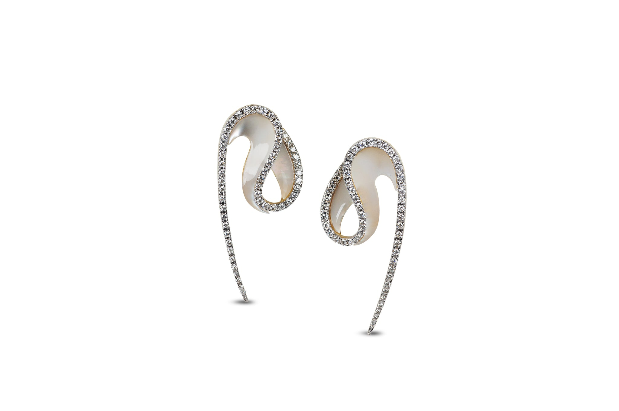 Talay Wave Mother-of- Pearl Earrings