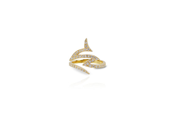 Le Phoenix Claw Diamond Ring