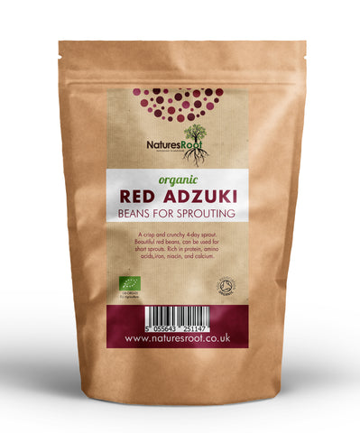 Organic Red Adzuki Beans for Sprouting