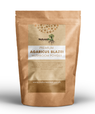 Premium Agaricus Blazei Mushroom Powder - Natures Root