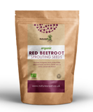 Organic Red Beetroot Sprouting Seeds - Natures Root