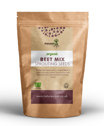 Organic 'Beet Mix' Sprouting Seeds - Natures Root