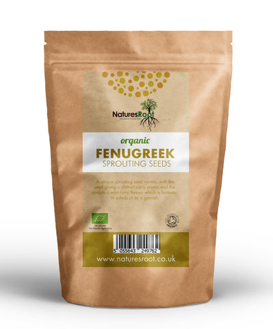 Organic Fenugreek Sprouting Seeds - Natures Root