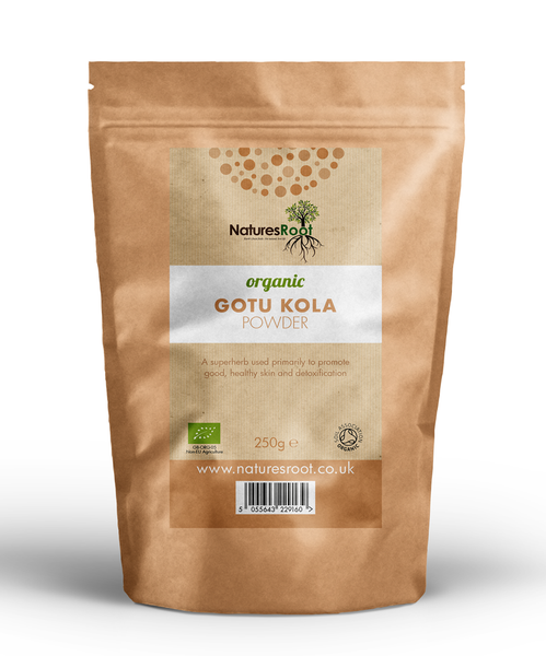 Organic Gotu Kola Powder - Natures Root
