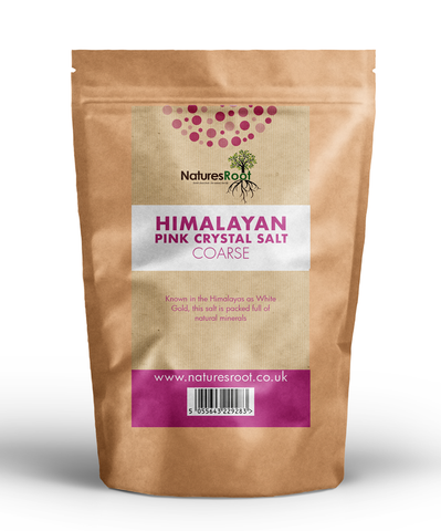 Natures Root, Himalayan Pink Salt, Coarse