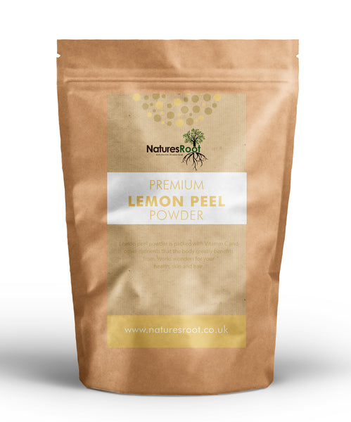 Premium Lemon Peel Powder - Natures Root
