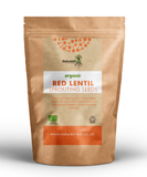 Organic Red Lentil Sprouting Seeds - Natures Root