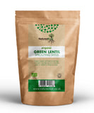 Organic Green Lentil Sprouting Seeds