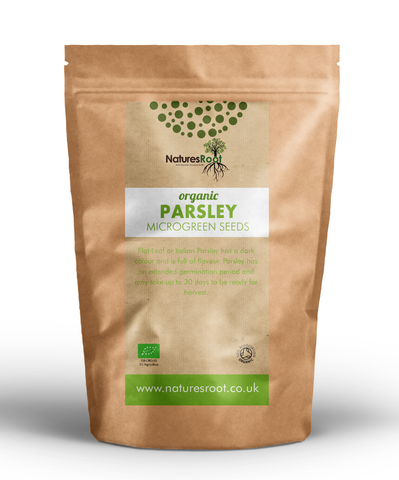 Organic Parsley Sprouting Seeds - Natures Root
