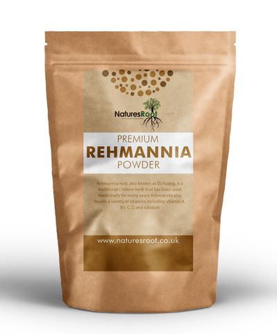 Premium Rehmannia Powder (Prepared) - Natures Root