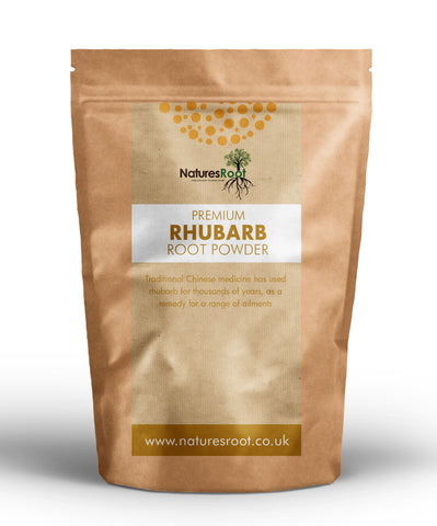 Premium Rhubarb Powder - Natures Root