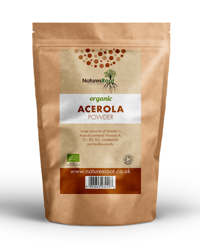 Natures Root, Organic Acerola Cherry Powder