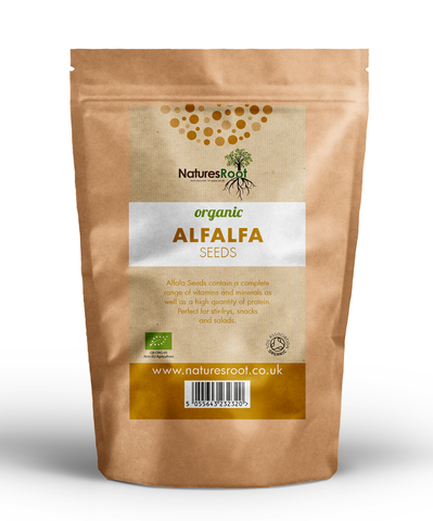 Organic Alfalfa Sprouting Seeds - Natures Root