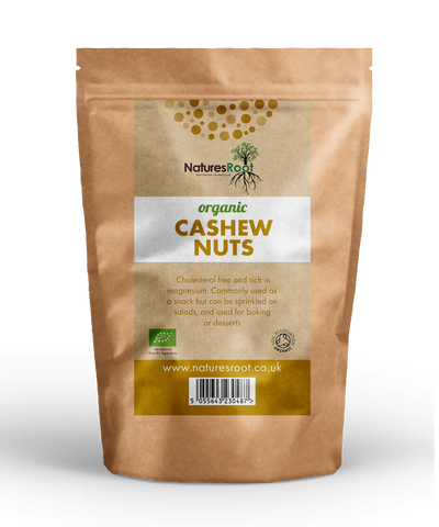 Natures Root, Organic Cashew Nuts