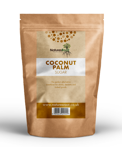 Natures Root, Organic Raw Coconut Palm Sugar