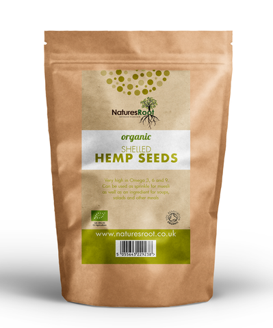 Natures Root, Organic Shelled Hemp Seeds