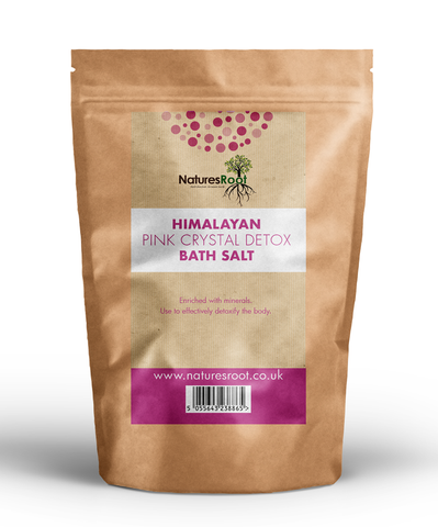 Himalayan Pink Crystal Detox Bath Salt - Natures Root