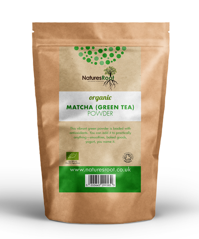 Natures Root, Organic Matcha Green Tea Powder