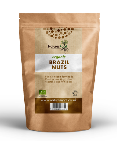 Natures Root, Organic Brazil Nuts