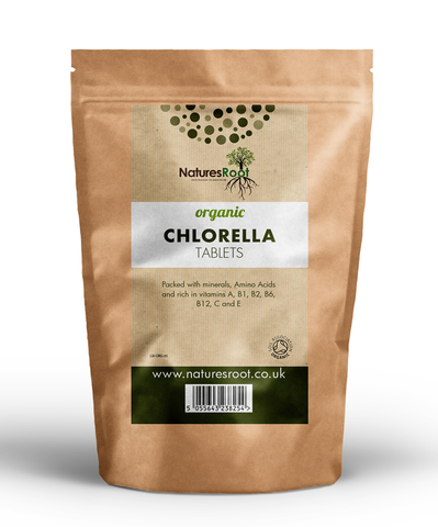 Natures Root, Organic Chlorella Tablets