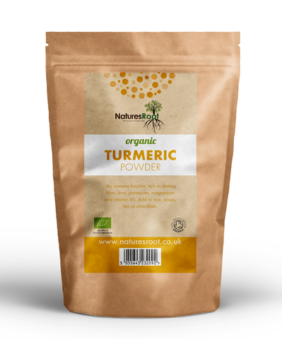 Natures Root, Organic Turmeric Powder