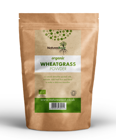 Natures Root, Organic Wheatgrass Powder