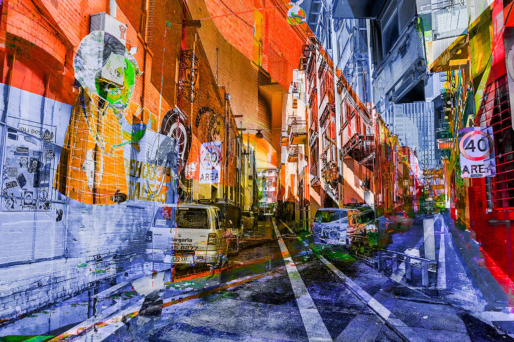 Perth City Alleyways