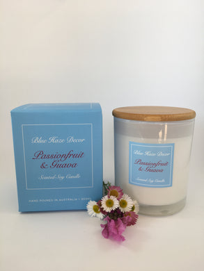 Passionfruit & Guava Candle