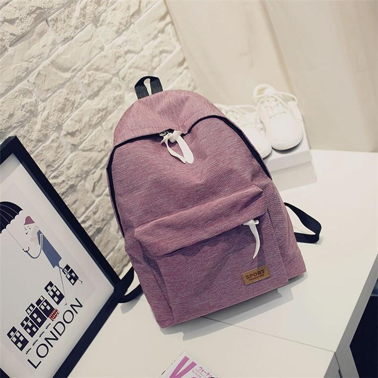 Fashionable Female Schoolbag Backpack