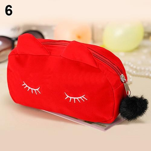Cute Cat Makeup Travel Bag